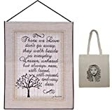 Those We Love Tapestry Inspirational Wall Hanging & Tote Multipack Sympathy Gift