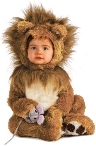 rubies-costume-co-unisex-baby-infant-noah-ark-lion-cub-romper-brown-beige-0-6-months