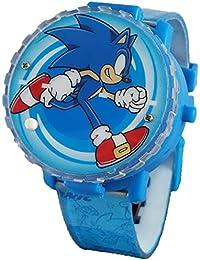 Light-Up Spinner LCD Watch