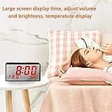 BOCTOP Desk Digital Alarm Clock, Large Numbers