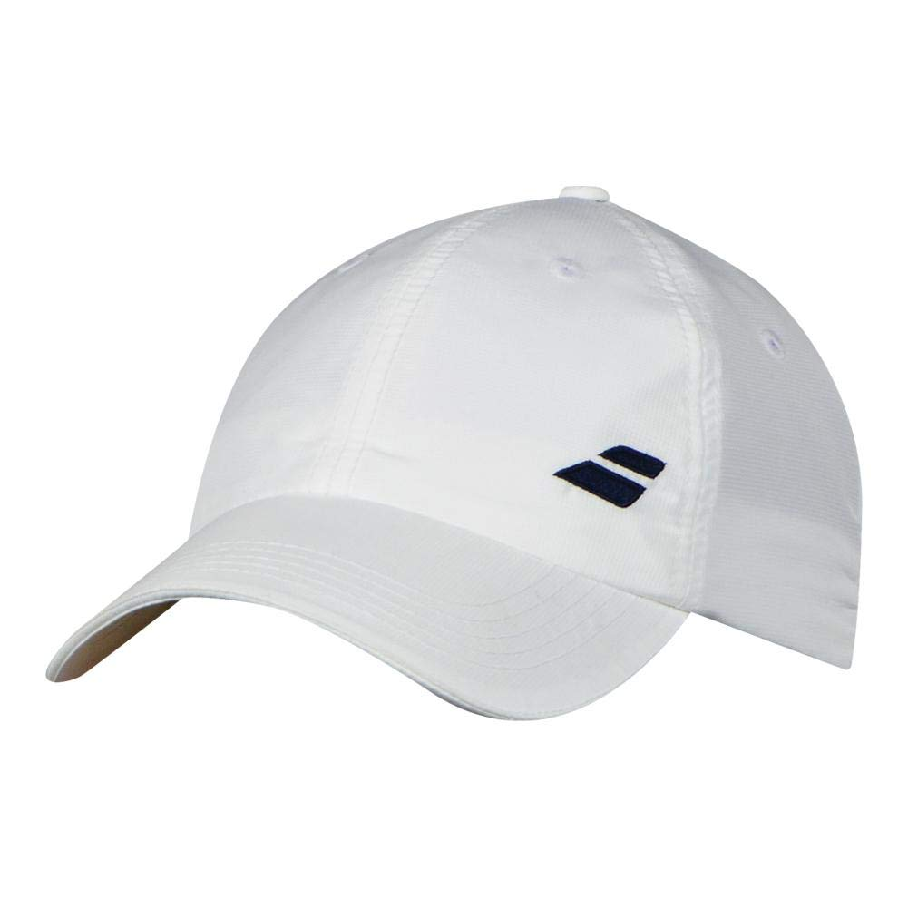 Amazon.com   Babolat - Basic Logo Tennis Cap - (5US18221-S18) - 100%  Polyester - Cotton Touch And Feel   Sports   Outdoors 9c2d89d596f