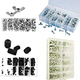 900pc Ultimate Hardware Assortment Wing Hex Nuts, Allen Screws and Washers