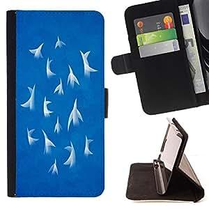 Jordan Colourful Shop - Abstract 10 For Apple Iphone 4 / 4S - < Leather Case Absorci????n cubierta de la caja de alto impacto > -