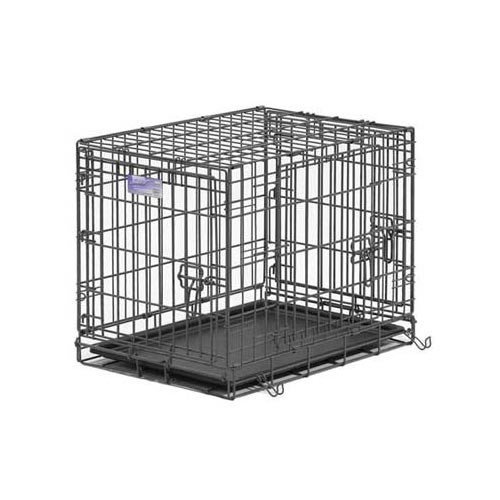 MidWest Select Triple-Door Dog Crate, 24 Inches by 18 Inches