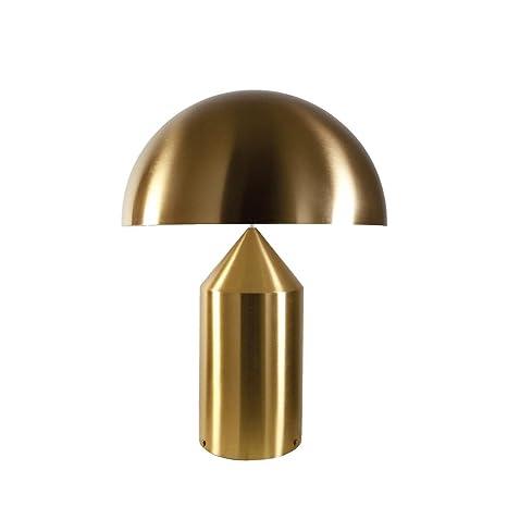 OOFWY Lámpara E14 estilo moderno simple mesa lámpara seta ...