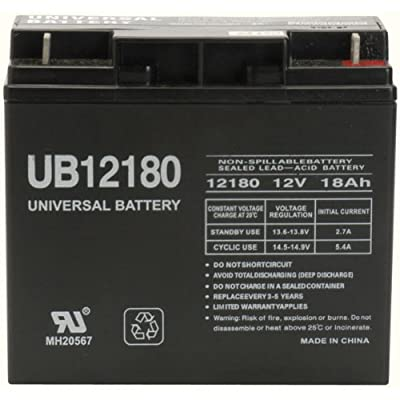 12V 18AH Wheelchair Battery Replaces 17ah Enduring CB17-12, CB-17-12