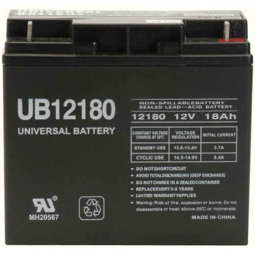 New Replacement Battery for DR Power Field Mower 10483 104837 12V 17AH 18AH by Universal Power Group