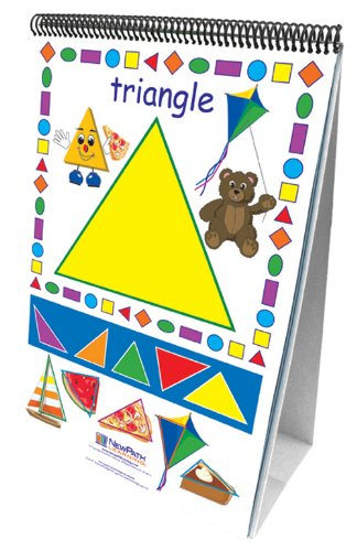 NewPath Learning Exploring Shapes Curriculum Mastery Flip Chart Set, Early Childhood