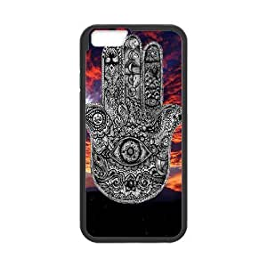"""Customized Dual-Protective Case for Iphone6 Plus 5.5"""", Hamsa Hand Cover Case - HL-R648022"""