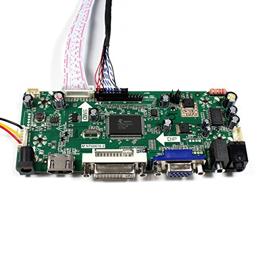 HDMI+VGA+DVI+Audio Input LCD Controller Board For B156XW01 LTN156AT01 15.6'' 1366x768 1CCFL 30Pins LCD Panel by LCDBOARD (Image #3)