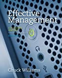 Bundle: Effective Management, 5th + Management CourseMate with EBook Printed Access Card, Williams and Williams, Chuck, 1133297501