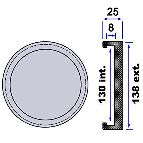 Taco de goma G04 para elevadores de coches. Incluye 4 uds.: Amazon.es: Coche y moto