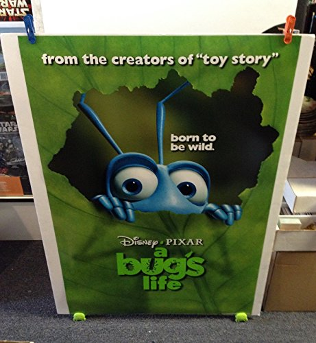 Disney Pixar A BUGS LIFE Movie Poster 27x40 One Sheet Double Sided