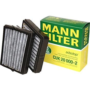 Amazon Com Mann Filter Cuk 20 000 2 Carbon Activated