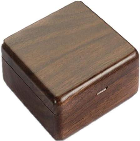 Meien Crafts Joyero de Madera Rectangular, pequeña Caja de Madera ...