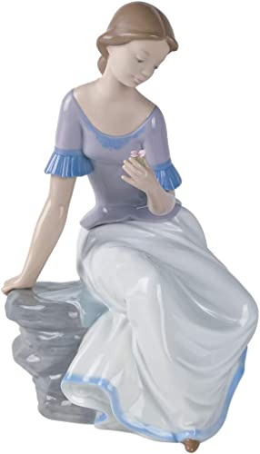 NAO Spring Reflections. Porcelain Girl Figure.
