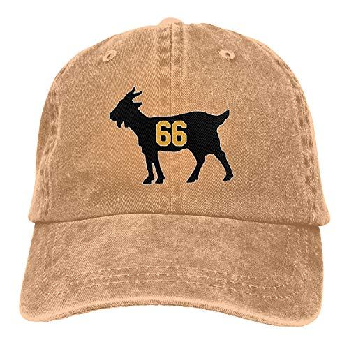 Moore Me Adjustable Baseball Cap Gold Pittsburgh Lemieux Goat Cool Snapback Hats