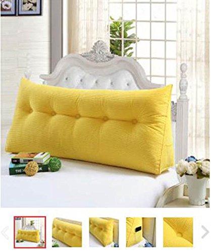 Dimensioni cuscino excellent tempo libero cotone cuscini di grandi dimensioni capezzale - Cuscini grandi per testata letto ...