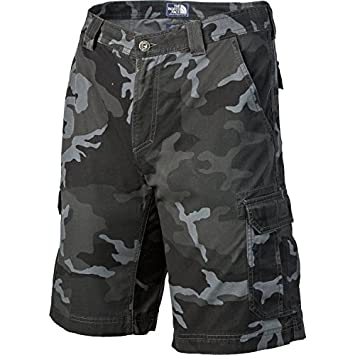ffc5a63318 The North Face Men's Tribe Cargo Shorts (TNF Black Camo, 36): Amazon ...