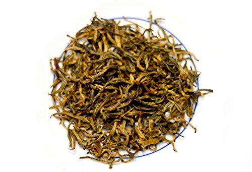 (Wu Mountain Tea Imperial EU Certified Yunnan Golden Bud (Golden Tips) Black Tea - 8 Oz)