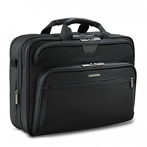 Briggs & Riley @ Work Luggage Large Expandable Brief, Black by Briggs & Riley (Image #3)