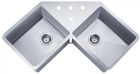 Amazon.com: Pozos sinkware ssu4424 – 10 – 1 16-gauge ...