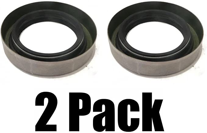 """Oil and Grease Seal 1.378/""""x 2.835/""""x 0.472/"""" Inch Rubber Covered Double Lip w//Gart"""