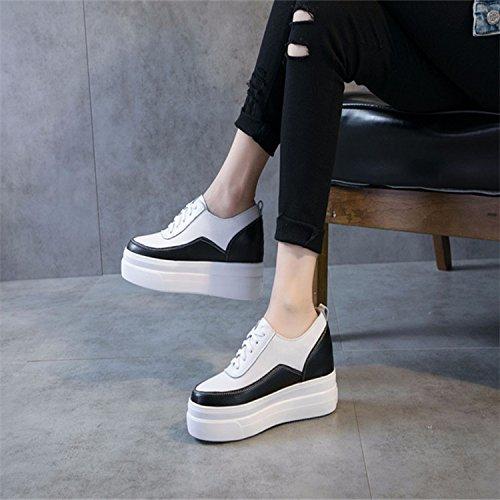 spessore 36 di questo tempo scarpe femmina di le scarpe libero Thirty l'aumento six nel KPHY tipo sotto pelle pZE1qn