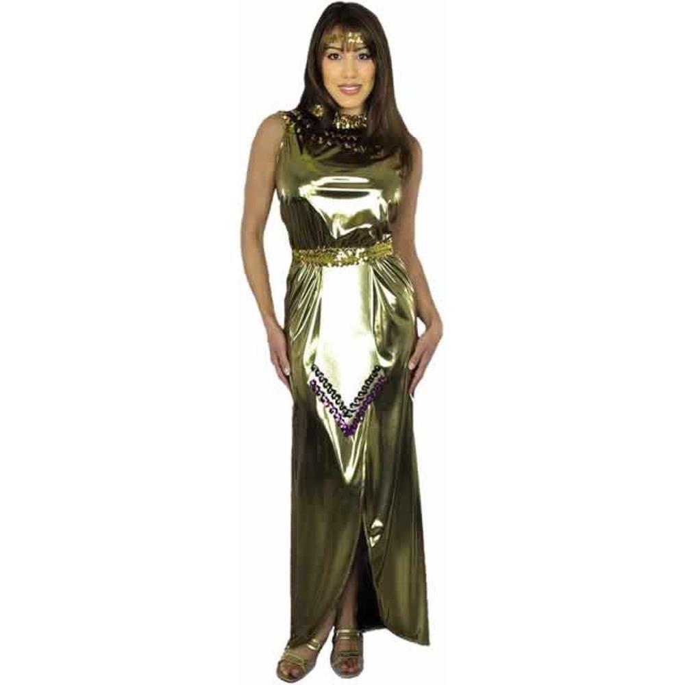 Amazon.com: Disfraz de adulto de Lame Cleopatra (tamaño ...