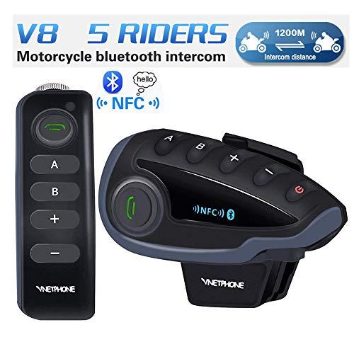 Amazon.com: Motocicleta sistemas de comunicación, VNETPHONE ...