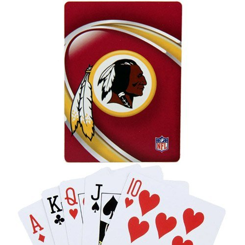 NFL Washington Redskins Vortex Playing (Washington Redskins Nfl Trading Cards)