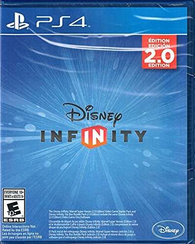 Disney Infinity 2.0 Marvel Super Heroes PS4 Replacement Game Only - No Base or Figures Included by Disney Interactive Studios [並行輸入品] B01JATL5ZU Parent