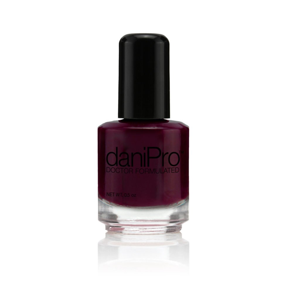 Deep Wine Nail Polish: Amazon.com : DaniPro Always Be True Anti-Fungal Nail