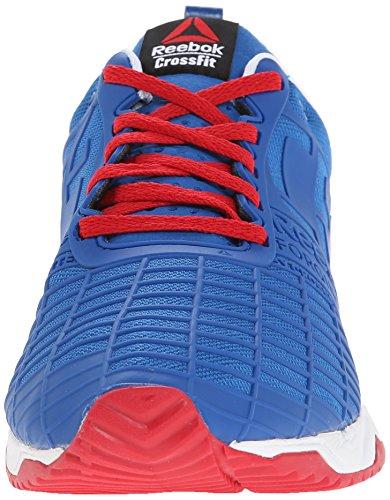 Reebok Menns Crossfit Sprint St Trening Sko Påvirke Blå / Utmerket Rød / Hvit