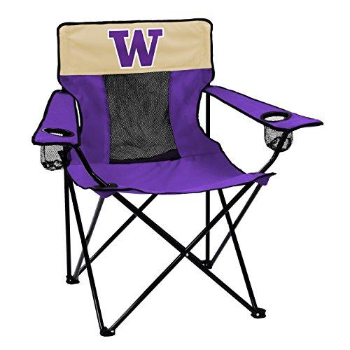 Logo Brands NCAA Washington Elite Chair, Purple, Adult from Logo Brands