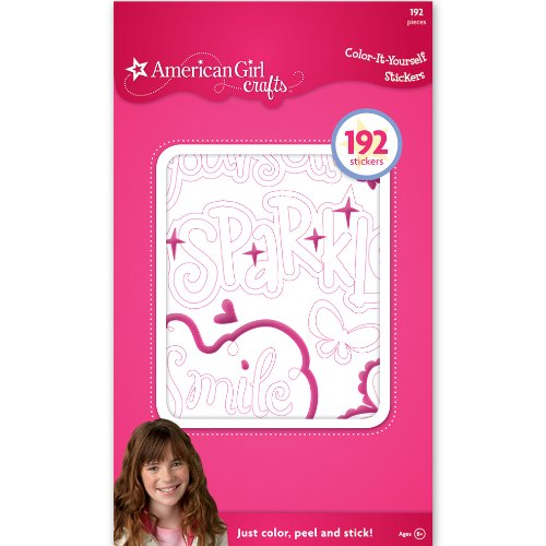 (American Girl Crafts Color it Yourself)