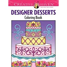 creative haven designer desserts coloring book creative haven coloring books - Creative Haven Coloring Books