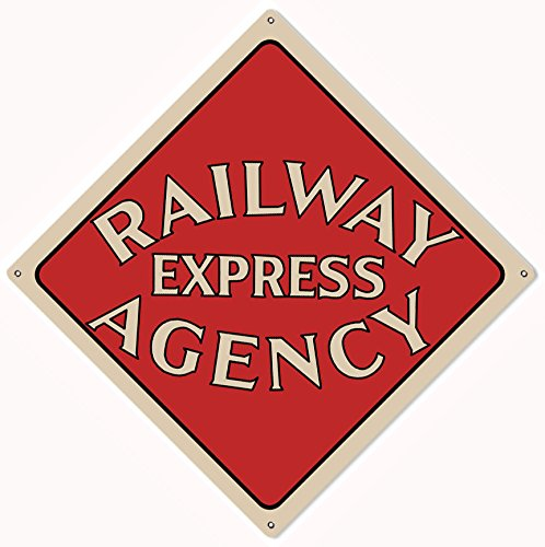 - Victory Vintage Signs Railway Express Agency Railroad Sign 12X12 Reproduction.