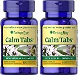 Cheap 2 Bottles of Puritan's Pride Calm Tabs – (100 tabs x 2)