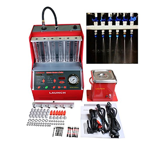 Launch Autool CNC602A AUTO Car Fuel Injectors Ultrasonic Wave Cleaner Injection Tester With Free 110V (Best Ultrasonic Injector Cleaners)