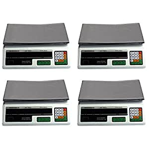 4 Digital Deli Weight Scales Price Computing Food Produce 60LB ACS-03
