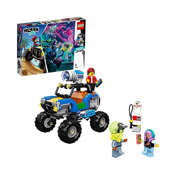 LEGO Hidden Side il Buggy da Spiaggia di Jack, Dai la Caccia ai Fantasmi Nella Realtà Aumentata in Modalità Single o… 1 spesavip