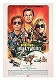Once Upon a Time in Hollywood Movie Poster Glossy High Quality Print Photo Wall Art Leonardo DiCaprio, Brad Pitt, Margot Robbie Al Pacino Sizes 8x10 11x17 16x20 22x28 24x36 27x40 #1 (8x10 inches)