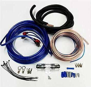 8 Awg 1200 Watt 8 Gauge Car Amplifier Booster Amp Power Earth ...