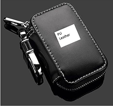 286497d62f Nero auto portachiavi portamonete da uomo con cerniera del telecomando  portachiavi universale porta chiavi in borsa