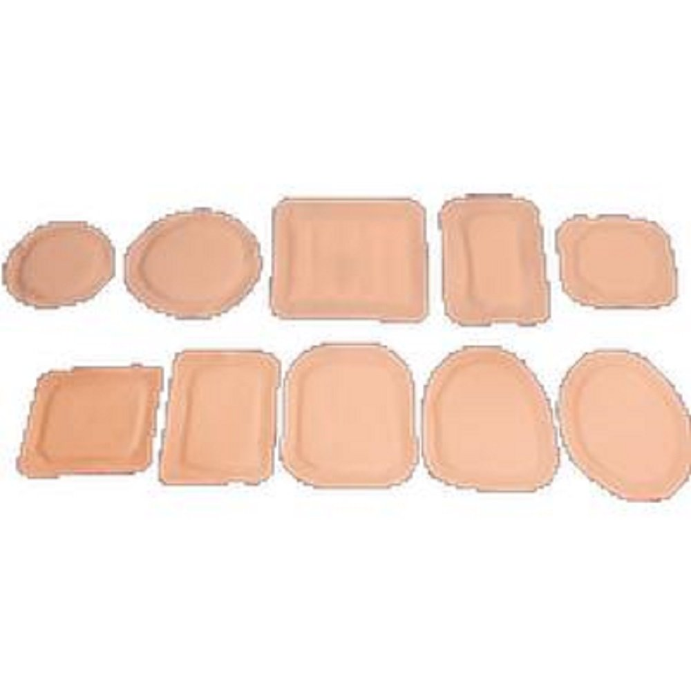 Austin Medical - AMPatch, Stoma Cap 7/8'', Round Center Hole w/ Clear Film Backing, 2-5/8'', 35 Med Absorbency Latex-free