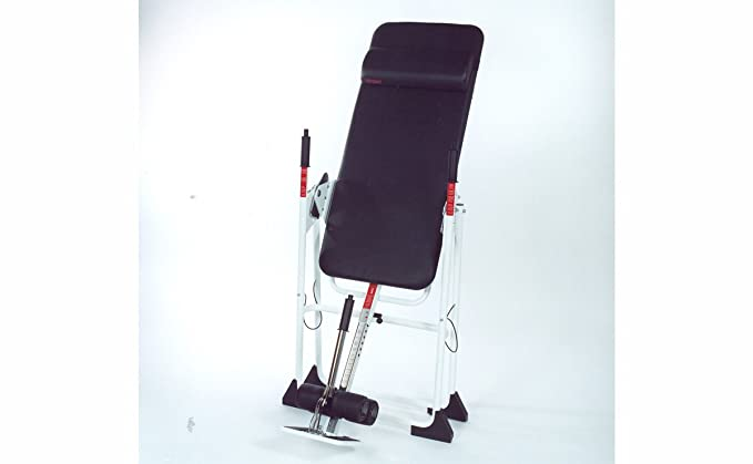 Amazon.com : Mastercare Back-A-Traction CN-B1 Inversion Table : Health And Personal Care : Sports & Outdoors
