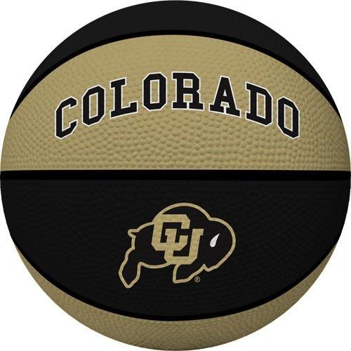 NCAA Colorado Golden Buffaloes Crossover Full Size Basketball by Rawlings (Colorado Basketball)