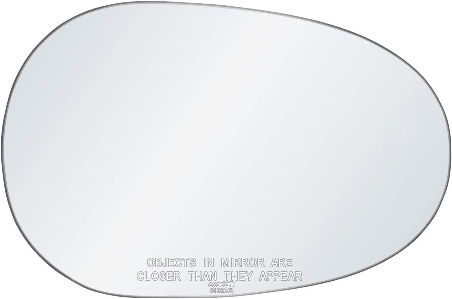 exactafit 8992MR Passenger Side Mirror Glass Replacement Plus 3M Adhesives Compatible With Mazda Miata 1990-1997 Suzuki X-90 1996-1998 Right Hand Door Wing RH