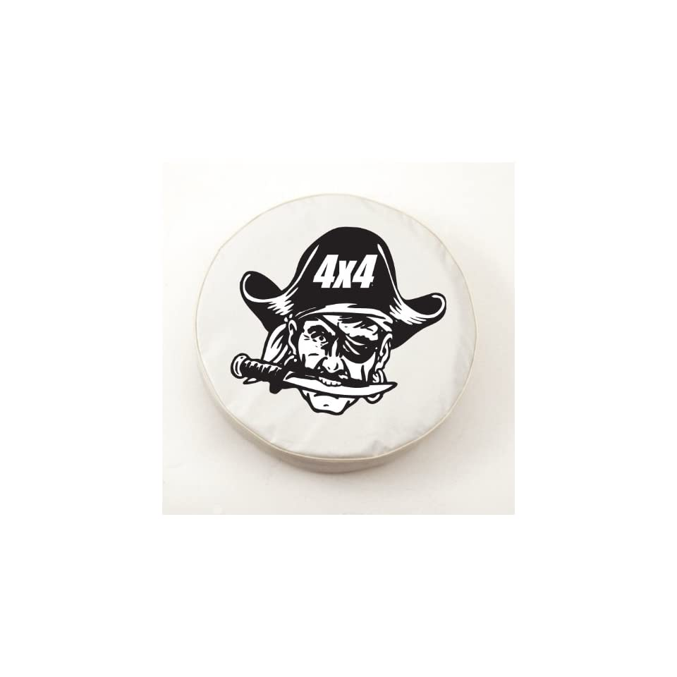 4x4 Pirate Jeep White Spare Tire Covers